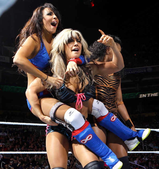 Wwe ladies hot matches